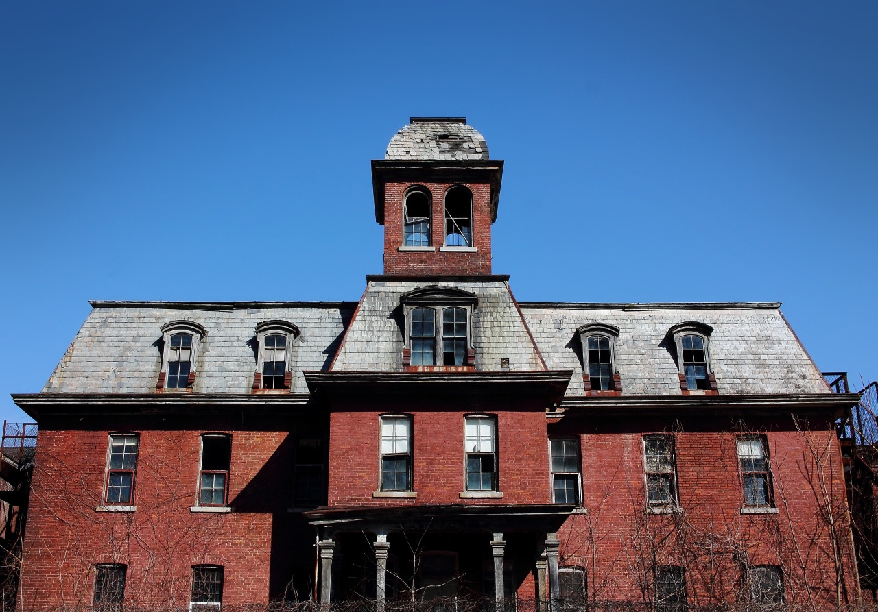 Willard Asylum for the Chronic Insane.  Willard, New York.